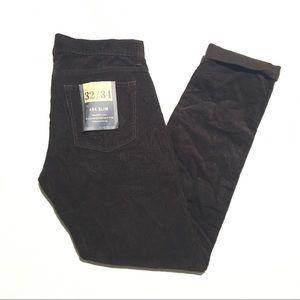 NWT J. Crew 484 Slim Corduroy Pants